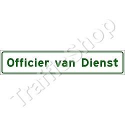 officier van dienst