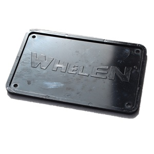 Whelen Blind Plaat